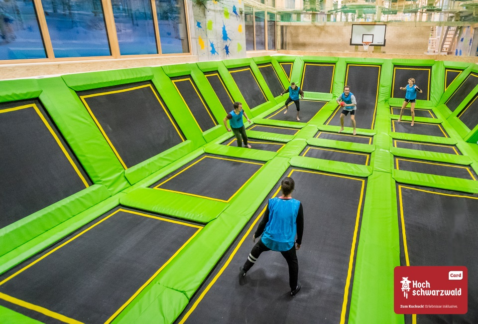 Trampoline Park<br>45 min. free of charge