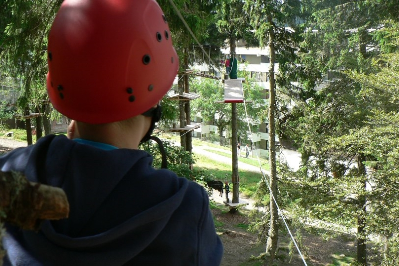 Outdoor Kletterwald